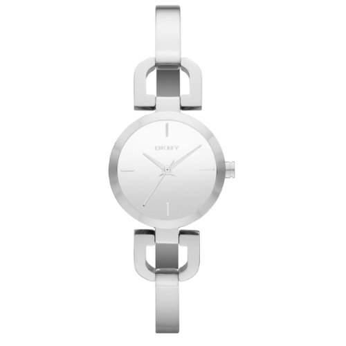 DKNY Damen-Armbanduhr XS Analog Quarz Edelstahl NY8869