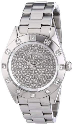 DKNY Damen-Armbanduhr Analog Quarz Edelstahl NY8889