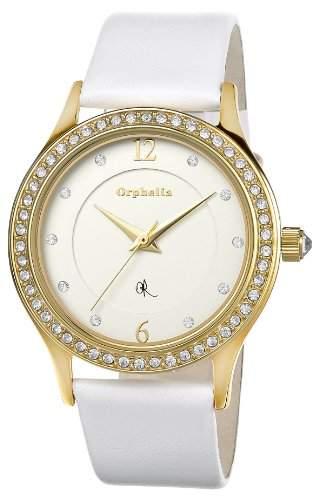Orphelia Damen-Armbanduhr XS Analog Quarz Leder OR53171981