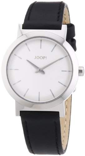 Joop! Damen-Armbanduhr XS Origin Ladies Silver Analog Quarz Leder JP101242F01