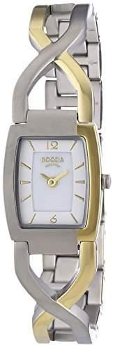 Boccia Damen-Armbanduhr XS Analog Quarz Titan 3219-02