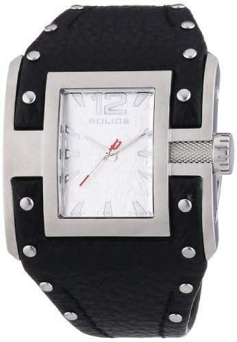 POLICE Damen-Armbanduhr AVENGER Analog Quarz Leder P13401JS-04