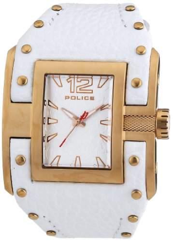 POLICE Damen-Armbanduhr AVENGER Analog Quarz Leder P13401JSR-04