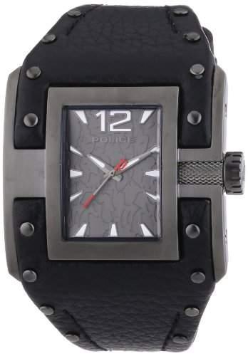 POLICE Damen-Armbanduhr AVENGER Analog Quarz Leder P13401JSU-61