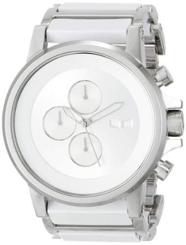 Vestal Unisex-Armbanduhr Analog Plastik weiss PLA016