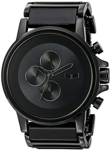 Vestal Unisex-Armbanduhr Analog Plastik schwarz PLA017