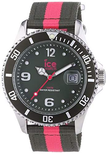 Ice Watch Unisex-Armbanduhr Analog Quarz Textil POKPKUN14