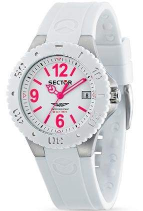 Sector Damen-Armbanduhr 175 Analog Plastik R3251111003
