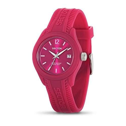 Sector Damen-Armbanduhr Analog Quarz Kautschuk R3251576501