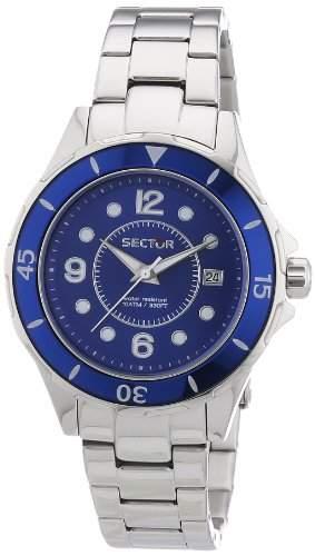 Sector Damen-Armbanduhr Analog Quarz Edelstahl R3253161502