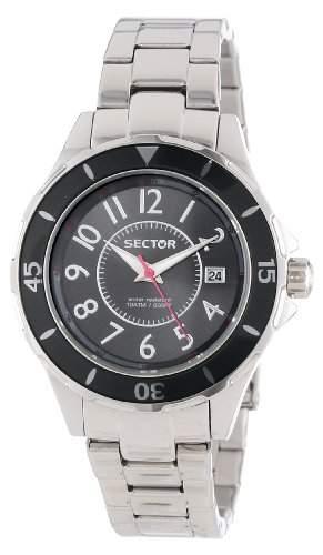 Sector Damen-Armbanduhr 250 Analog Quarz Edelstahl R3253161503