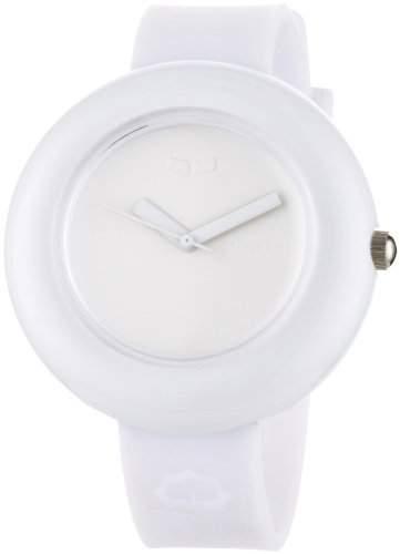 Vestal Unisex-Armbanduhr The Set Analog Kunststoff weiss SET004