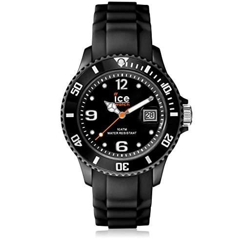 Ice-Watch Armbanduhr Sili-Forever Unisex Schwarz Analog Quarz SIBKUS09