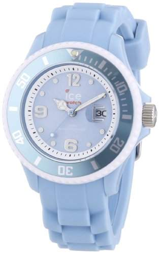 Ice-Watch Damen-Armbanduhr Limited DE - Sky blue - Small Analog Quarz Silikon SISKYSS13