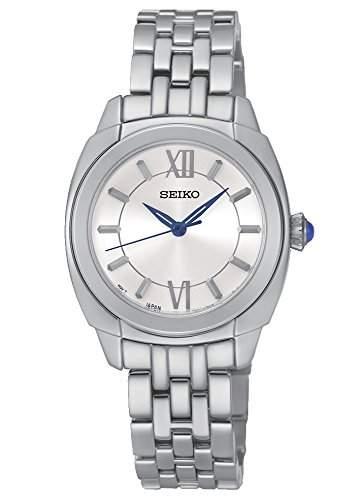 Seiko Damen-Armbanduhr Analog Quarz Edelstahl SRZ425P1
