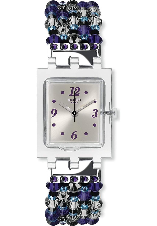 Watch Swatch Lady Square SUBM122G ELLE EST ELLE