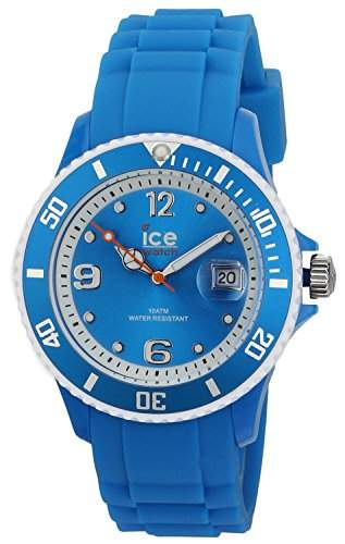 Ice-Watch Unisex - Armbanduhr Ice Sunshine Analog Quarz Silikon SUNNBEUS13