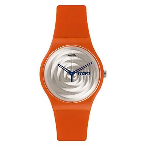 Swatch Unisex-Armbanduhr Analog Quarz Silikon SUOO702