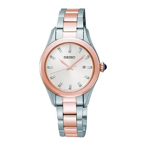 Uhr Seiko Neo Classic Sxdf68p1 Damen Weiss