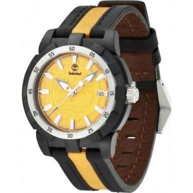 Timberland Damen-Armbanduhr Analog Quarz verschiedene Materialien TBL13323MPBS17
