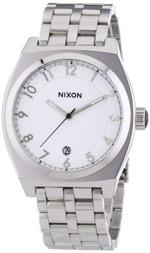 Nixon Unisex-Armbanduhr The Monopoly High Polish Analog Quarz Edelstahl A325945-00