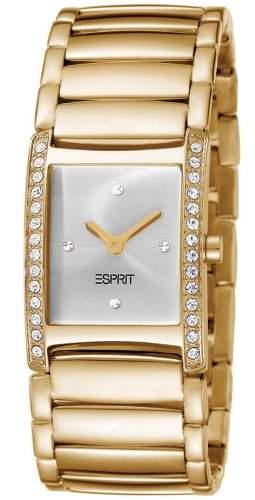 Esprit Damen-Armbanduhr Trace Gold Analog Quarz Edelstahl ES103712001
