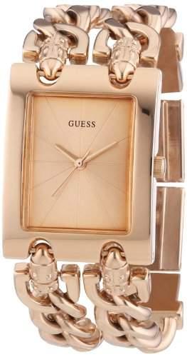 Guess Damen-Armbanduhr Analog Quarz Edelstahl W0073L2