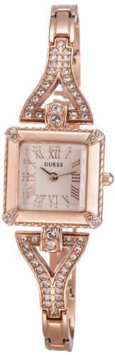 Guess Damen-Armbanduhr Analog Quarz Edelstahl W0137L3