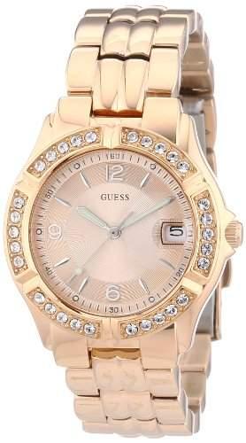 Guess Damen-Armbanduhr Analog Quarz Edelstahl W0148L3