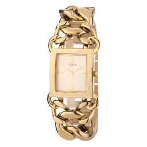 Guess Damen-Armbanduhr Analog Quarz Edelstahl W0438L2