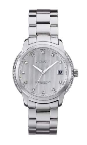 GANT Damen-Armbanduhr Analog Quarz Edelstahl W10712