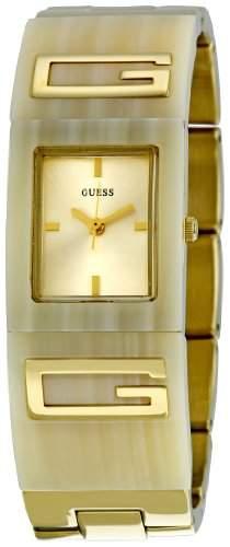 Guess Damen-Armbanduhr Analog Quarz Edelstahl W12107L2