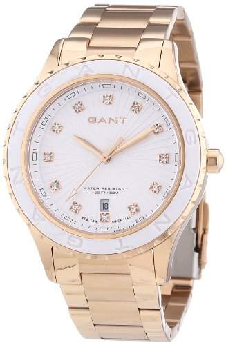 GANT Damen-Armbanduhr Analog Quarz Edelstahl beschichtet W70534