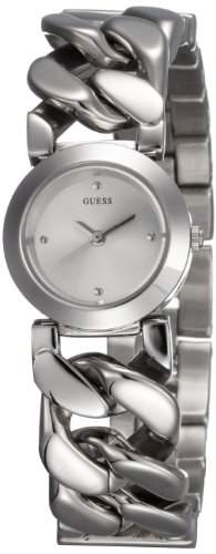 Guess Damen-Armbanduhr XS Analog Quarz Edelstahl W75060L1