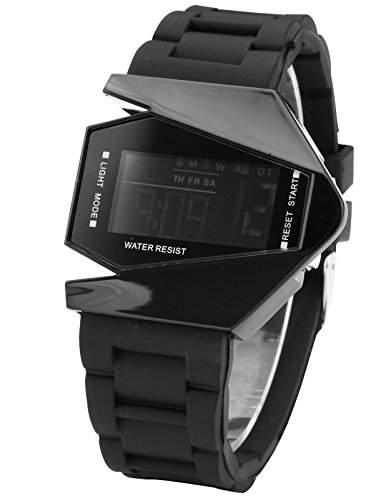 AMPM24 LED Herrenuhr Damenuhr Armbanduhr Digital Sport Uhr LED034