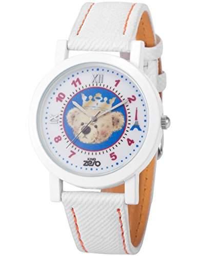 AMPM24 Unisex Quarzuhr Analog Junge Kinder Leder Armbanduhr PHN012