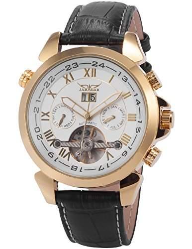 AMPM24 Elegante Klassisch mechanische Automatikuhr Herrenuhr Armbanduhr Uhr + AMPM24 Geschenkbox PMW018