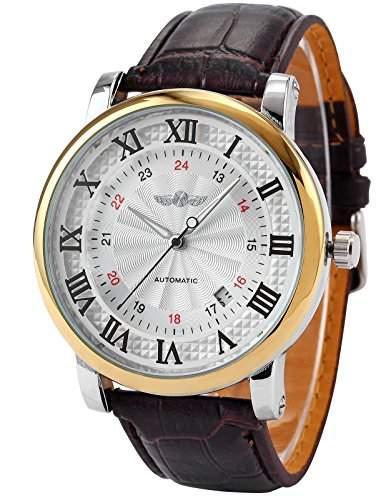 AMPM24 Herren Uhr Automatik Uhr Armband Uhr Herrenuhr Automatikuhr Mechanische Uhr NEU + AMPM24 Geschenkbox PMW100