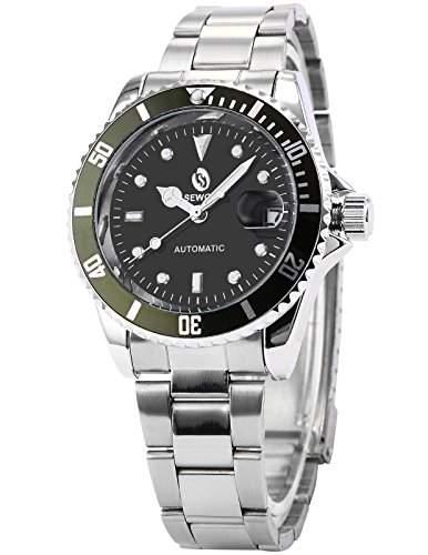 AMPM24 Elegante Klassisch mechanische Automatik Herrenuhr Armbanduhr Uhr + AMPM24 Geschenkbox PMW112