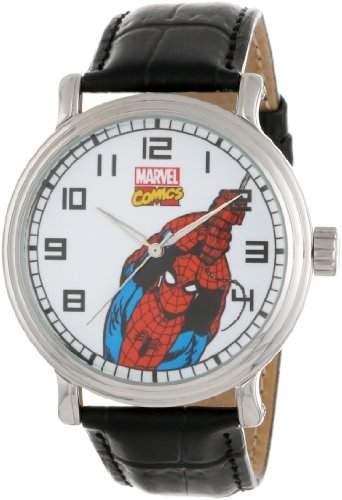 Marvel Comics Herren W000532 Spider-Man Vintage Uhr