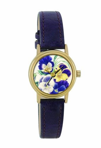 Portobello Road Damen Armbanduhr Analog Plastik Violett APR2002