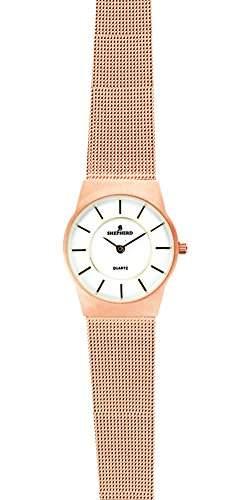 SHEPHERD Edelstahl Damen Armbanduhr 78537