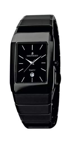 SHEPHERD Keramik Herren Armbanduhr Quarz 60221