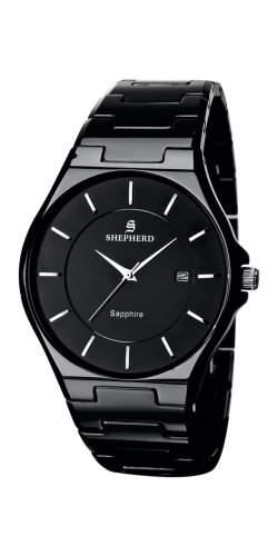 SHEPHERD Keramik Herren Armbanduhr Quarz 60223