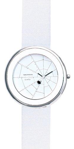 SHEPHERD Damen Armbanduhr grosse Version 50 mm Quarz Spinne 15104 Spinnenuhr
