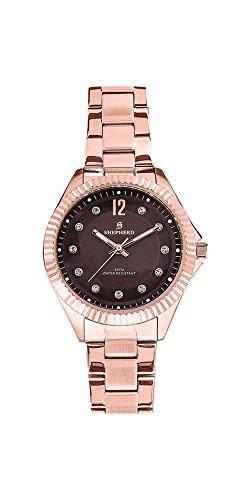 SHEPHERD Edelstahl Damen Armbanduhr 78550
