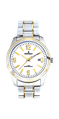 SHEPHERD Edelstahl Herren Armbanduhr 78601