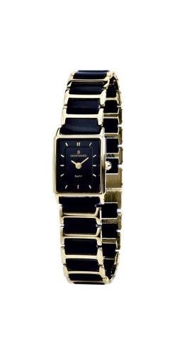 SHEPHERD Keramik Damen Armbanduhr Quarz 60303