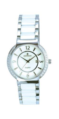 SHEPHERD Keramik Damen Armbanduhr Quarz 60360