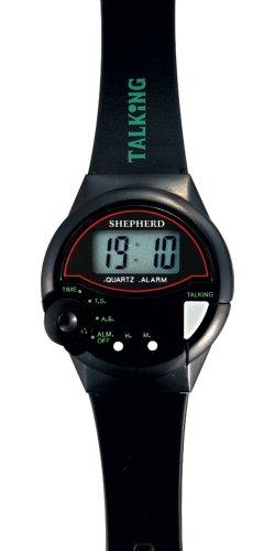 SHEPHERD sprechende Herrenarmbanduhr 047201